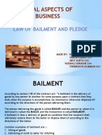 law of bailment