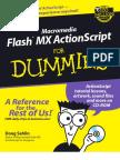 Wiley - Macromedia Flash Mx Actionscript for Dummies