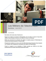 l'Etude Sur Les Filières de l'Électronique - Avril 2010 - Première Partie
