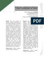 Limites e Percepções Para a Formação Do Pedagogo Hospitalar No Campus Universitário Do Marajó- Breves-pa.