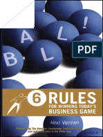 Balls - 6 Rules for Winning Todays Business Game