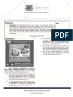 Simulado 01 - PMDF - CFO -Edital- 2016 Versão aluno