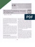 Bagian IX. Toksikologi