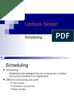 Lecture Seven