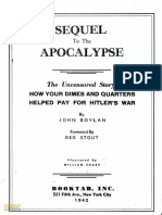 Boylan and Stout - Sequel to the Apocalypse - How Your Dimes and Quarters Helped Pay for Hitler's War