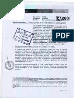 2- Contestación de la demanda por parte de la Procuraduría Pública Especializada en Materia Constitucional.