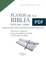 Planos de La Biblia-Guia Del Lider