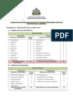 Plan de Estudio BTP en Industria de La Madera