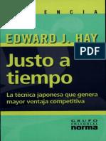 Justo a Tiempo - Edward J. Hay.pdf