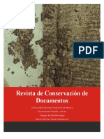 Revista de Conservacion de Documentos