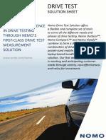 Nemo Drive Test Solution