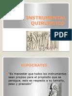 Instrumental Quirurgico Yo Anas