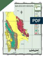 Anh - Mapa Geologico de Bolivia