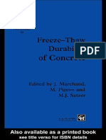 (RILEM Proceedings 30) Pigeon, Michel_ Marchand, J._ Setzer, M-Freeze-thaw Durability of Concrete _ Proceedings of the International Workshop in the Resistance of Concrete to Scaling Due to Freezing i (1)