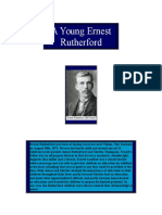 A Young Ernest Rutherford