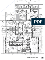Floor Plans of t Hall