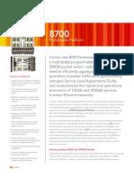 8700 Packetwave Platform Data Sheet