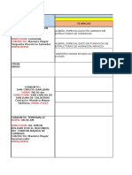 Cronograma de Examinaciones