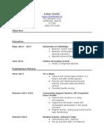 resume current