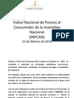 Índice Nacional de Precios al Consumidor de la Asamblea Nacional (INPCAN)