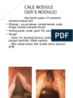 Vocal Nodule