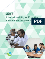 Schoolarship brochure