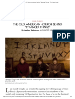 """The Old, American Horror Behind """"Stranger Things"""" - The New Yorker"""