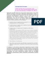ICDF Scholarship Application Procedure