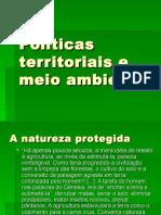 Politicas Territoriais e Meio Ambiente