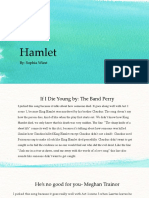 hamlet song presentation pdf