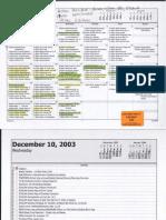 Kathy Nealy's calendar 2003, 2004