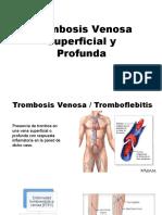 Trombosis Venosa Superficial y Profunda