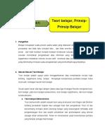 Bahan Bacaan 4.1. Teori Dan Prinsip Belajar(1)