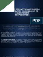 El Modelo Educativo Para El Siglo XXI