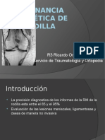 Resonancia magnetica de rodilla