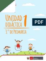 Unidad Didactica 3cero de primaria