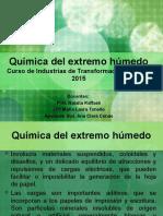 Química Del Extremo Húmedo Cargas y Encolantes 2015