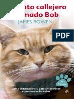 Un gato callejero Llamado Bob - Bowen, James James.pdf