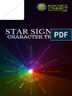 Star Signs and Character Traits