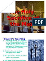 The Holy   Sacrifice of the Mass.ppt