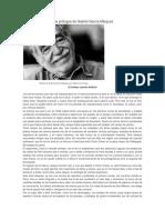 Dos Prólogos de Gabriel García Márquez