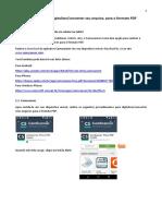 Tutorial Digitalizar Gerar PDF