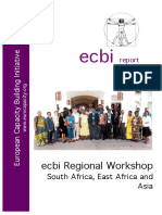 European Capacity Building Initiative - South East Africa & Asia