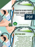 Presentasi Stase Gadar & Kritis RSUD Sanglah