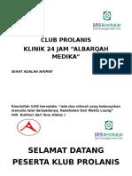 Spanduk Club Prolanis