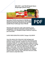 WA 0812-8899-4755 , Jual Fiforlif Kapuk Muara Penjaringan Jakarta Utara.rtf