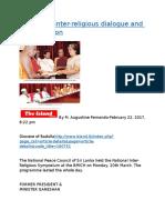 Invigorate inter-religious dialogue and reconciliation.docx