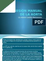 Compresion Manual de La Aorta