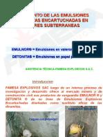 EMULNOR Y DETONITA EN MINERIA SUBTERRANEA.ppt