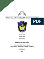KA Andal PT. Wono Indo Niaga